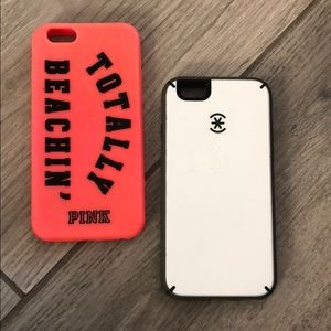 iPhone 6 phone cases. One or both in purchase.